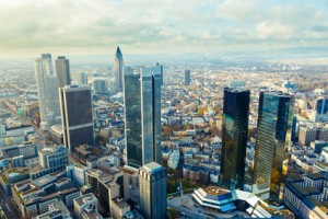 Skyline Frankfurter Bankenviertel
