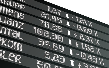 Computerhandel an der Börse